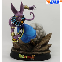 Anime Dragon Ball Z Beerus Statue Birusu GK Resin Full Length Portrait Action Figure Collectible Model Toy Q1051