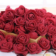Teddy Bear Roses 3cm Foam Rose Cheap Price Flowers Christmas Decor For Home Diy Gifts Artificial Flowers