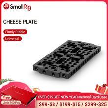 Plaque de commutation multi usages petite Plate forme pour bloc de Rail/plaque à fromage caméra en queue daronde avec 1/4 3/8 trous de filetage 1681