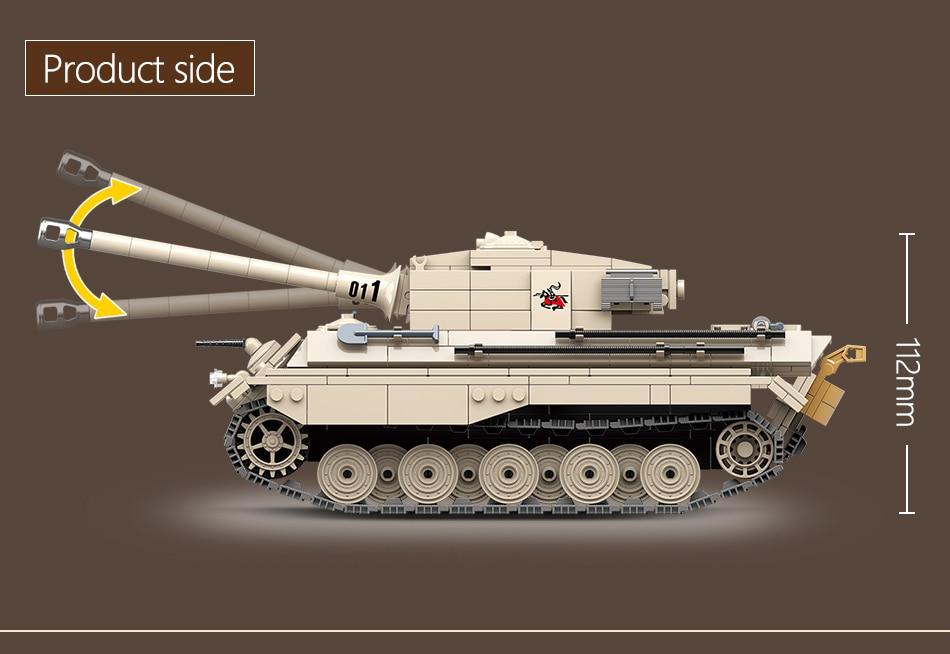 blocos de construção tanque militar exército soldado
