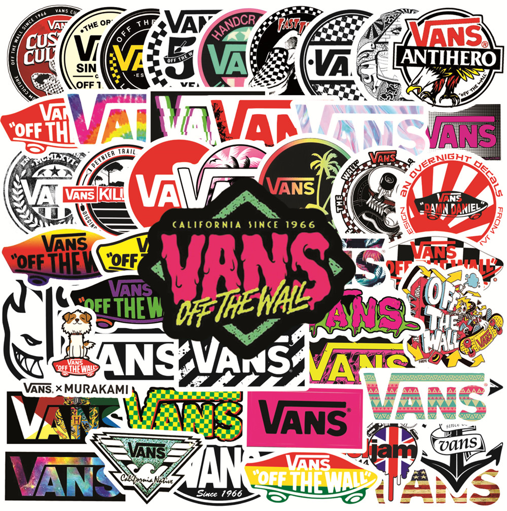 65 Vinyl PVC Graffiti Neon Stickers for Marvel Luggage Laptop Suitcase Car Decal