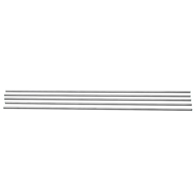 20pcs 304 Stainless Steel Capillary Silver Tubes 3mm OD 2mm ID 250mm Length