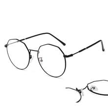 Компьютерные очки, оправа для очков, анти-синий светильник, очки, Антибликовая оправа для очков, женские полигоновые прозрачные линзы, очки