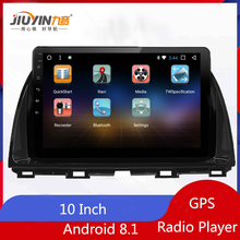 JIUYIN  inch Android 8.1 Car GPS Radio Player For Mazda CX5 CX-5 2013 2014 2015 With Auto Stereo Multimedia