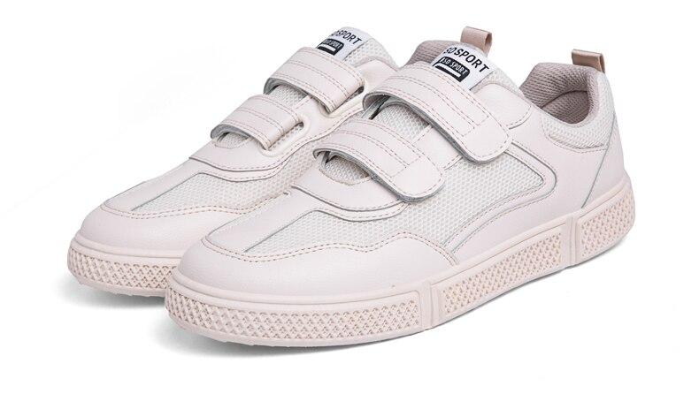 Alta qualidade velcro homens sapatos casuais venda
