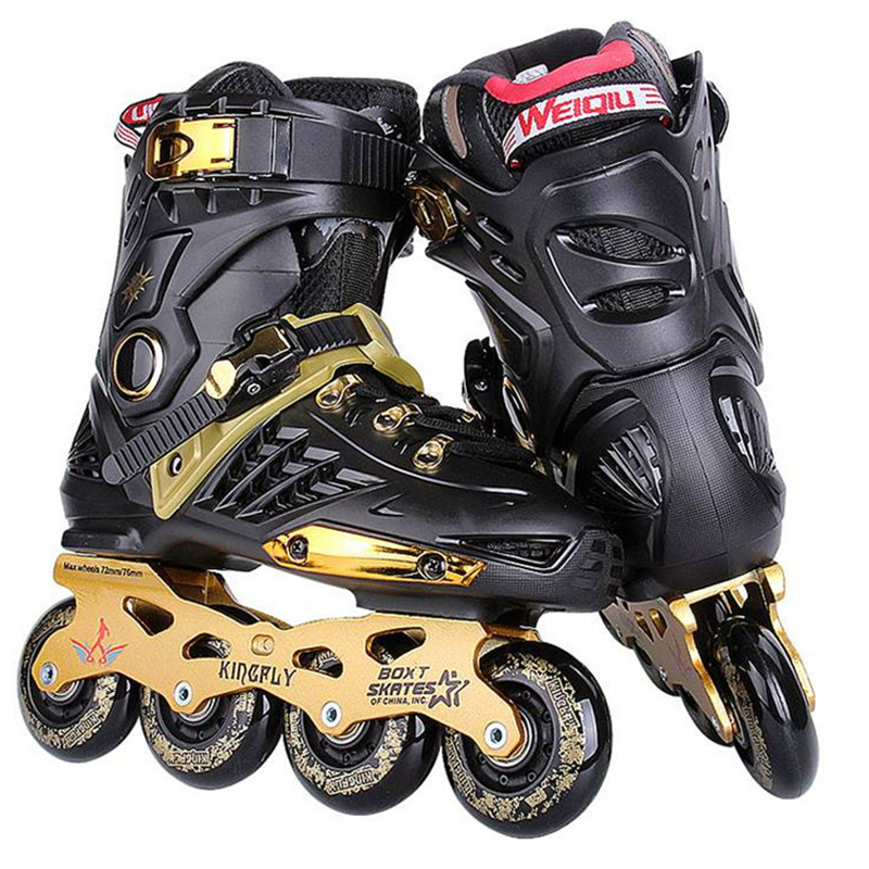 Slalom FSK Inline Skates Patines for s Daily Skating Sports with 85A PU Wheels ABEC-7 Bearing Aluminium Alloy Frame Base