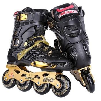 Slalom FSK-Patines en línea para adultos, deportes de patinaje diario con ruedas...