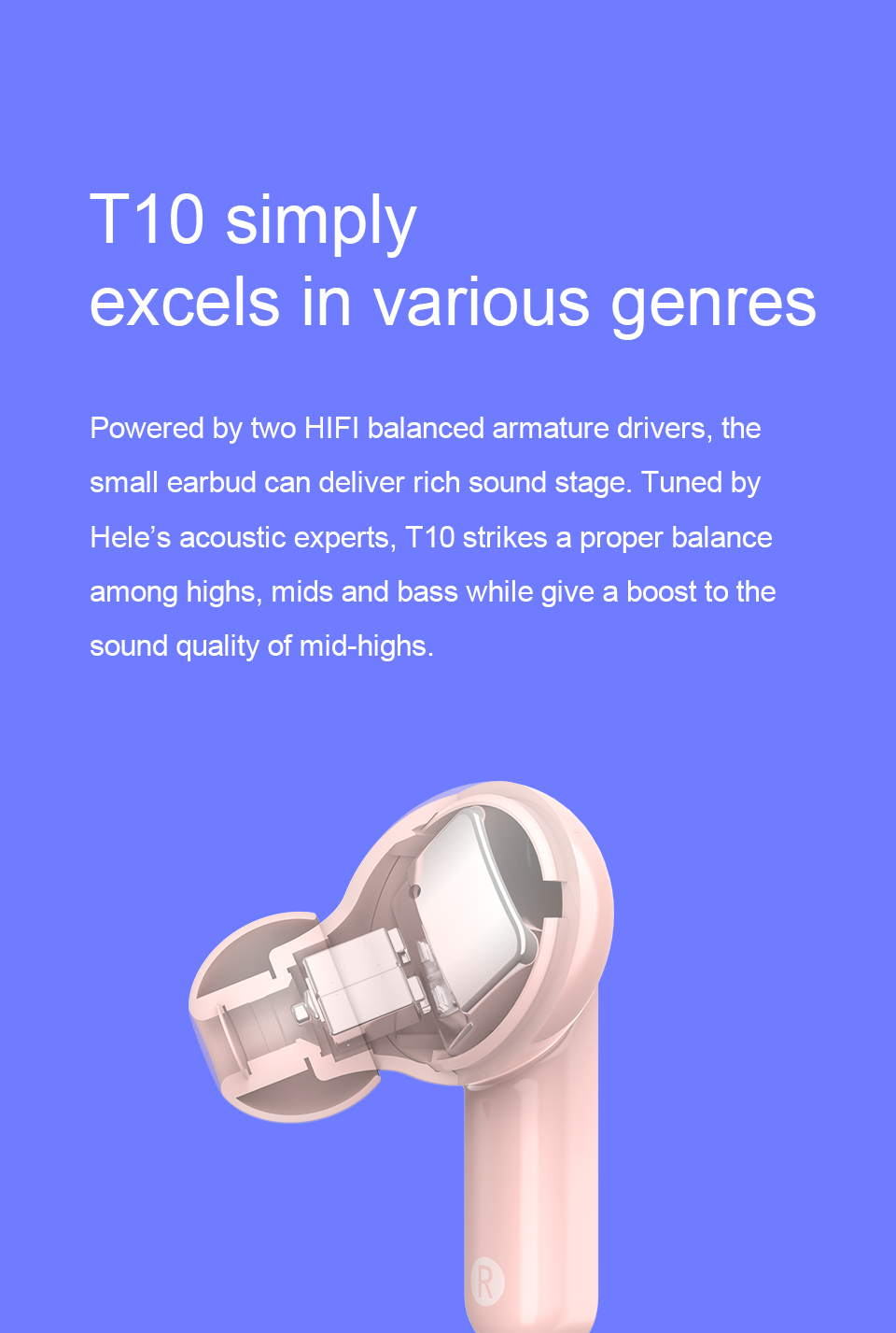 QCY T10 Wireless Bluetooth Earbud 7