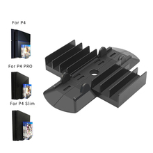 For PS4 Pro/PS4 Slim Multi-function Vertical Stand Holder Bracket Game Disks Card Box Storage Holder For Sony PS4 PlayStation 4 цена и фото