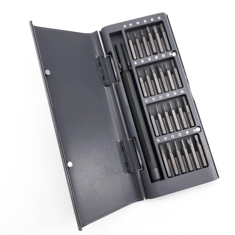24 в 1 Набор прецизионных отверток S2 магнитные биты Xiaomi набор инструментов для ремонта дома для Xiomi Hawei Iphone