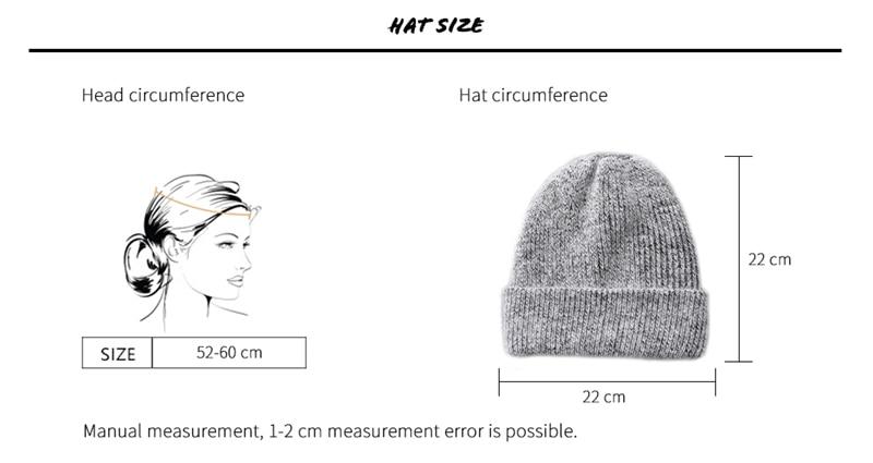 帽子-尺寸