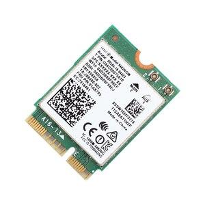 Image 5 - 433Mbps لاسلكي التيار المتناوب ثنائي النطاق واي فاي بطاقة محول إنتل 9462NGW NGFF M.2 مفتاح E مع بلوتوث 5.0 هوائيات لسطح المكتب Win10