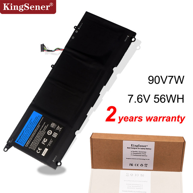 KingSener 90V7W JHXPY JD25G 090V7W Dell XPS 13 9343 XPS13 9350 13D 9343 P54G 0N7T6 5K9CP RWT1R 0DRRP 56WH