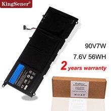 KingSener 90V7W JHXPY JD25G 090V7W بطارية كمبيوتر محمول لديل XPS 13 9343 XPS13 9350 13D 9343 P54G 0N7T6 5K9CP RWT1R 0DRRP 56WH