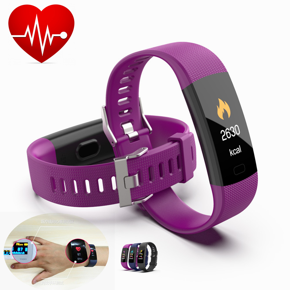 IP68 Real Heart Rate Smart Wristband Watch Same Chip as for Xiaomi Men Woman Health Bracelet European Japanese GPS Tracker Clock