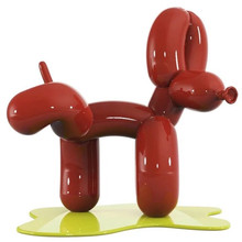 Abstract Peeing Dog Art Sculpture Room Decor Collectible Statue Resin Craft Tabletop Home Decorations Animal Figurine R4995