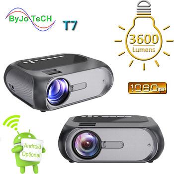 ByJoTeCH T7 FULL HD 1280 #215 720 projektor kina domowego LED 1080p 200 ANSI multimedialna i wieloekranowa wersja interaktywna opcjonalnie tanie i dobre opinie Instrukcja Korekta Projektor cyfrowy 4 3 16 9 Brak 1280x720 dpi 3600 Lumenów 40-200 cali 1000 1-2000 1 Domu Rzucanie 2 0 kg