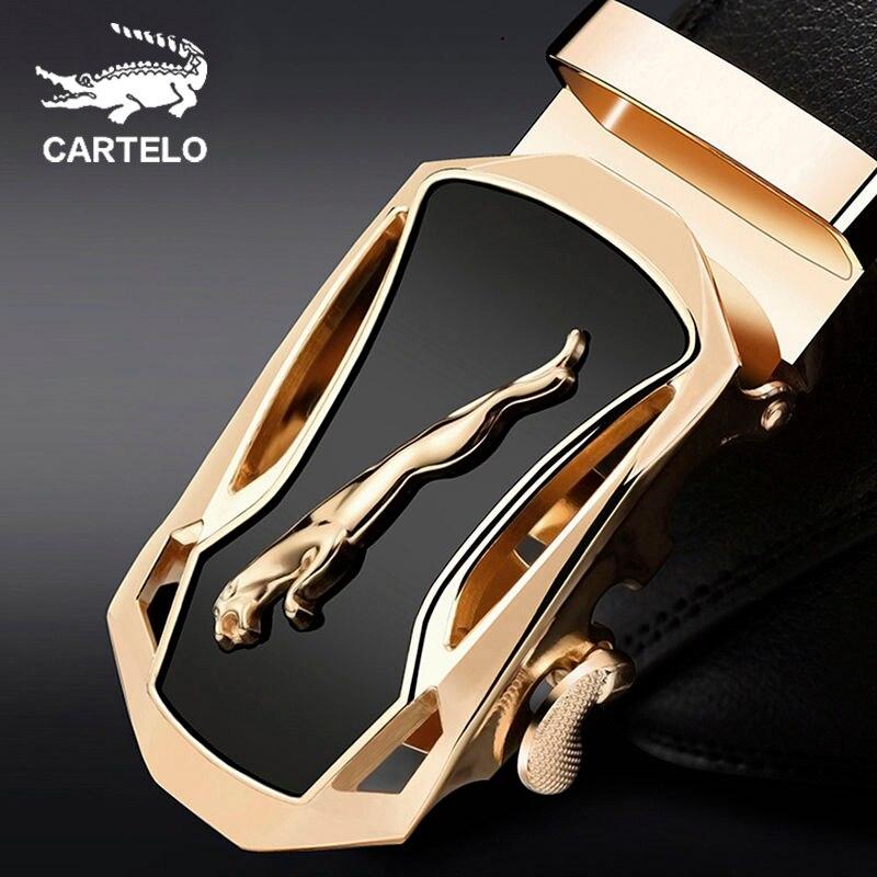 CARTELO мужской ремень на талию, новый дизайнерский мужской ремень, роскошный модный мужской ремень, роскошный бренд для мужчин, высокое качество, автоматическая пряжка|Мужские ремни|   | АлиЭкспресс