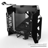 Bykski CE Veneno MX ATX Gaming PC Case Computer Chassis Material MOD Poison DIY Water Cooling Toxic Aluminum & Tempered Glasses