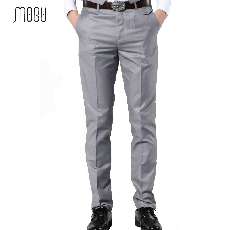 PLYHUNY 2020 New Casual Dress Pants For Men Slim Men Dress Pants Red Mens Elastic Waist Dress Pants Skinny Casual Trousers
