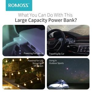"Image 5 - ROMOSS זאוס 40000mAh כוח בנק 18W פ""ד QC 3.0 דו כיוונית מהיר טעינת Powerbank סוג C חיצוני סוללה מטען עבור iPhone Xiaomi"
