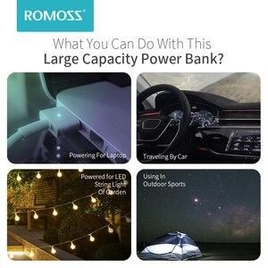 ROMOSS Zeus 40000mAh Power Bank 18W PD QC 3,0 Zwei-weg Schnelle Aufladen Power Typ-C externe Batterie Ladegerät Für iPhone Xiaomi