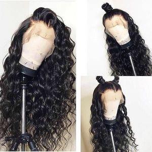 Image 2 - 13x4 תחרה פרונטאלית שיער טבעי Loose גל שיער לא מעובד שקוף תחרה פרונטאלית עם בייבי שיער מולבן קשרים