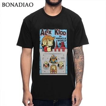 Camiseta informal para hombre Alex Kidd In Miracle World Shinobi World, 100%...