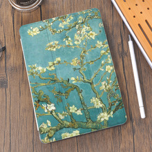 Vintage Oil Painting for iPad Mini 5 Case Air 4 Pencil Holder 10.2 8th 2020 7th 12.9 Pro 11 Funda Silicone For 10.5 Air 1 2 3