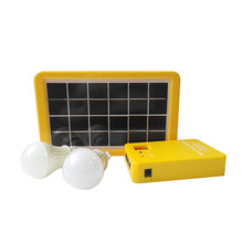 3W home Solar System 6V solar panel with controller cable DIY kit