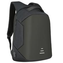 BAIBU plecak męski z zabezpieczeniem przeciw kradzieży torba na laptopa wodoodporne plecaki szkolne USB do ładowania 15.6 cala moda męska plecak oxford męski