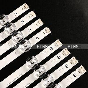 """Image 1 - 825mm LED Backlight Lamp strip 8 leds For LG INNOTEK DRT 3.0 42""""_A/B TYPE REV01 REV7 131202 42 inch LCD Monitor 2sets"""