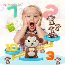 Educational Math Toys Monkey Balance Counting Games For Toddlers Kids 3+ Number Learning STEM Toys For Children Birthday Gifts