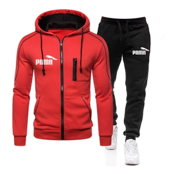 New Brand Clothing Mens Autumn winter Hot Sale Sets Hoodie+pants Two Pieces Casual Tracksuit Male Sportswear