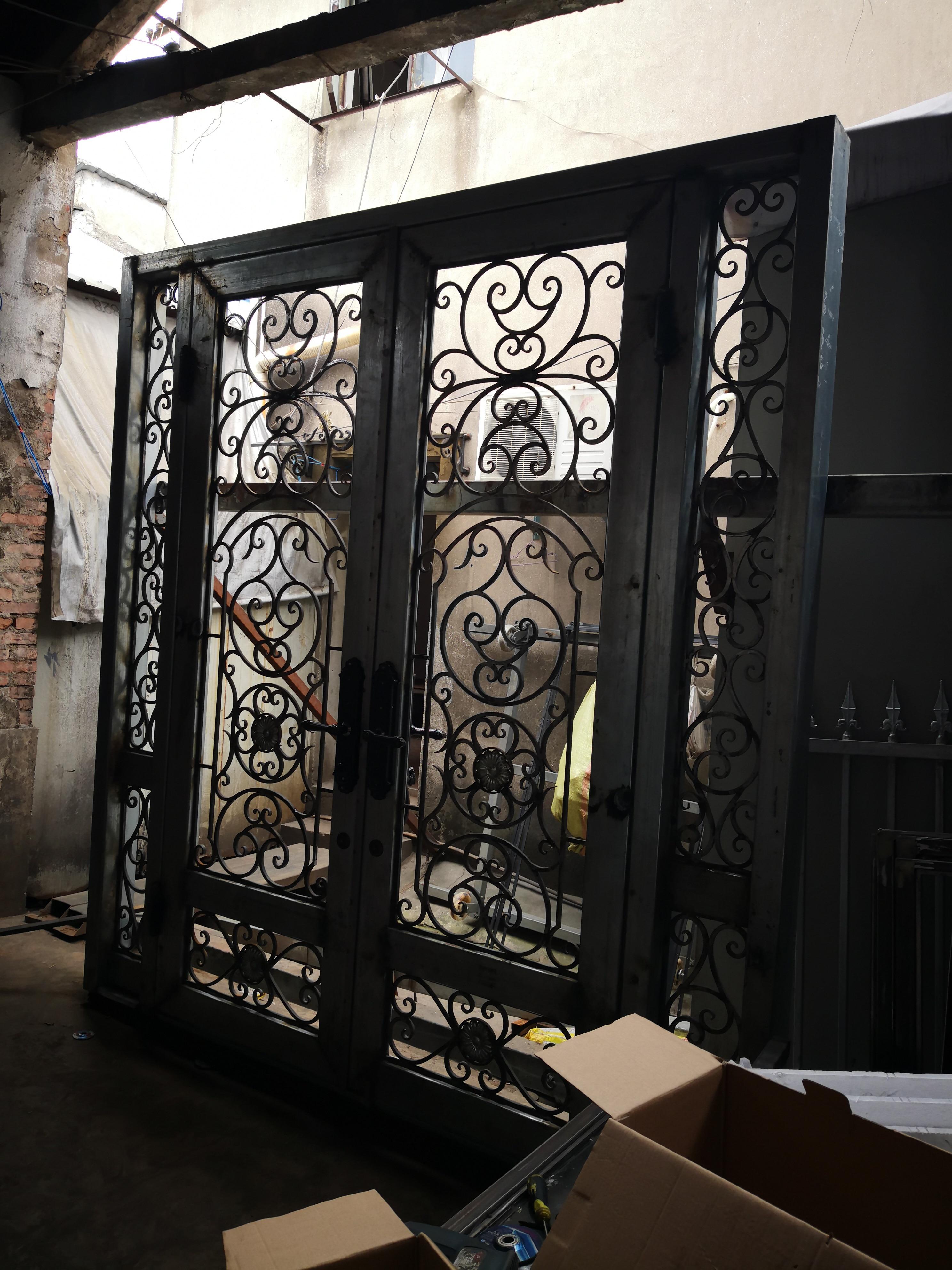 Hench 100% Steel Iron Doors  Model Hc-id134