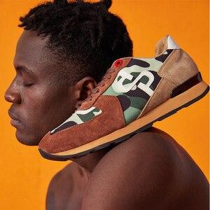 Image 5 - OPP Newbalance Giày Nam 2020 Mới Giày Cân Bằng Da Thật 574 Giày Thể Thao Sneaker Cân Bằng Mới Zapatillas Hombre Nhà Cao Cấp