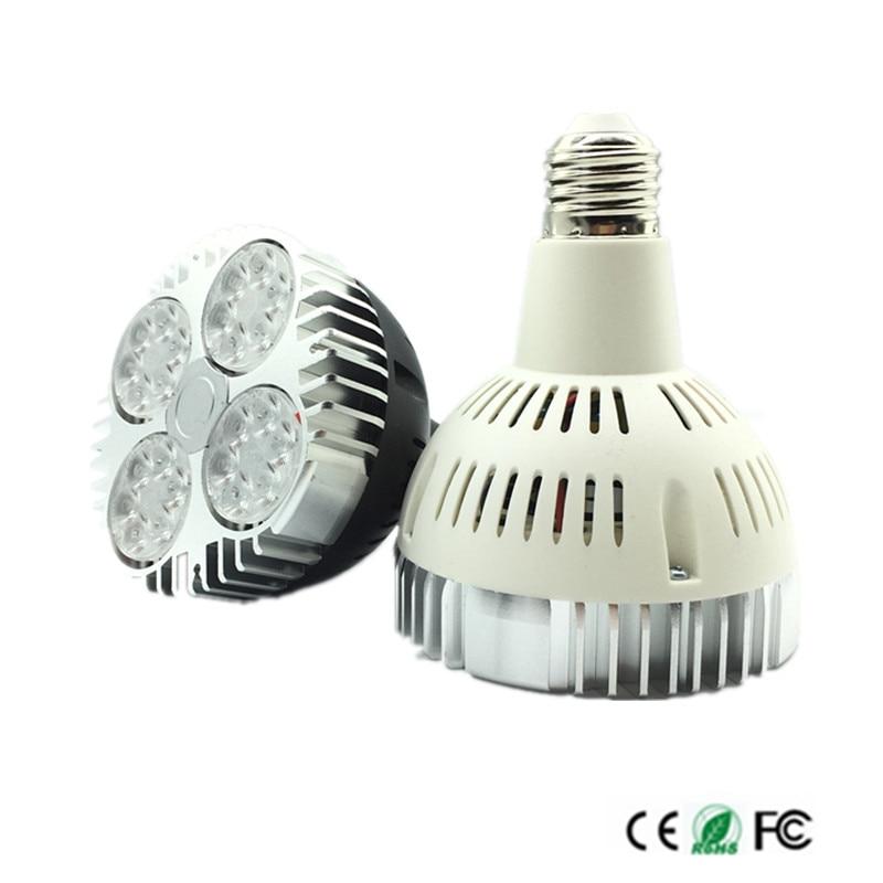 35W Par30 LED Bulb Spot Light E26/E27 LED Lighting Lamp Warm White/Natura White/Cold White 85-265V led indoor light bulb lights