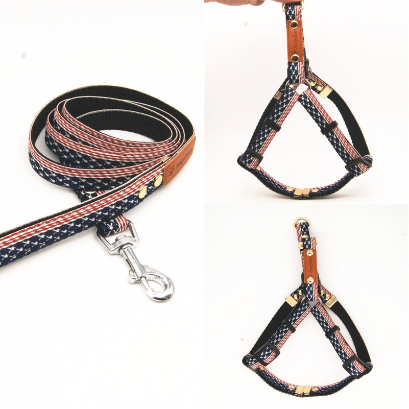 Origional MaKY Series Pet's Chest-back Set Dogs And Cats Chest And Back Hand Holding Rope Chest Strap Pet Supplies