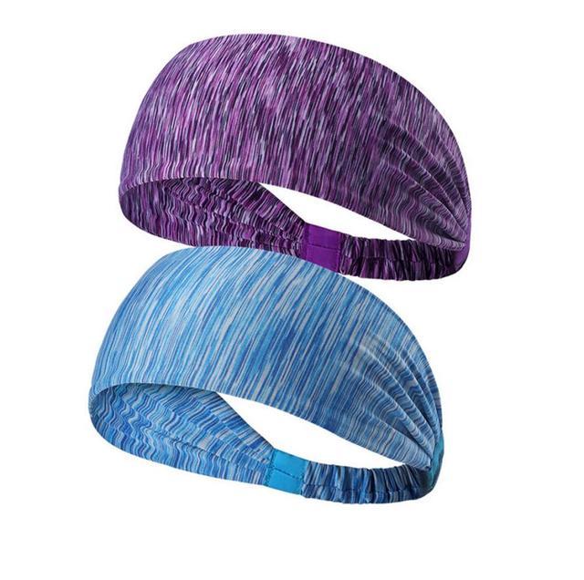 Women's Sports Belt Sports Headband Sweat Stretch Stretch Yoga Running Hood Fitness Sports Safety Headband 1
