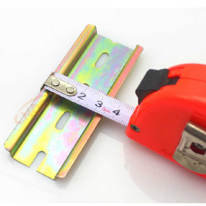 3 PCS/lot Rail Din 35mm largeur 8cm longueur rail Din pour disjoncteur compteur d'énergie contacteur AC