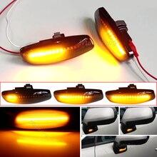Für Citroen C4 Picasso C3 C5 DS4 Peugeot 308 207 3008 5008 LED Auto Dynamischen Seite Marker Signal Lampe Licht signal Licht