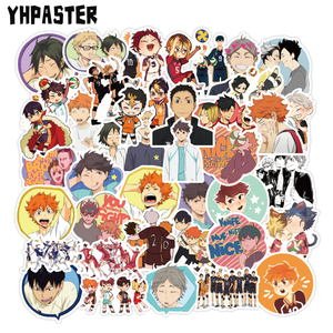 10/30/50pcs Haikyuu!! Graffiti Stickers Volleyball Japanese Anime For Suitcase Laptop Luggage Motorcycle Phone Skateboard Car
