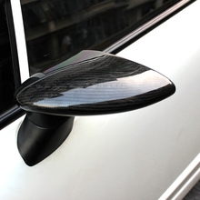 SPOON style Top quality real carbon fiber/ABS car outside exterior rearview mirror assemblies for 2006 2012 Honda Civic FD2