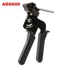ADG600/ADG338 opaska kablowa ze stali nierdzewnej narzędzie, mocowanie i szczypce do cięcia specjalne do opaski ze stali nierdzewnej zapięcie i z uciętym noskiem do 12mm/7.9mm