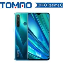 Realme Q 6,3 дюймов мобильный телефон Snapdragon 712AIE Восьмиядерный 48мп четырехъядерный мобильный телефон OPPO VOOC 20 Вт Быстрое зарядное устройство смартфон
