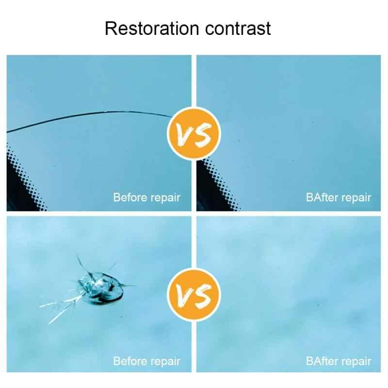 Sıcak satış araba DIY cam tamir aracı yükseltme otomobil camı Nano tamir sıvısı ön cam cam çizik çatlak geri TSLM2