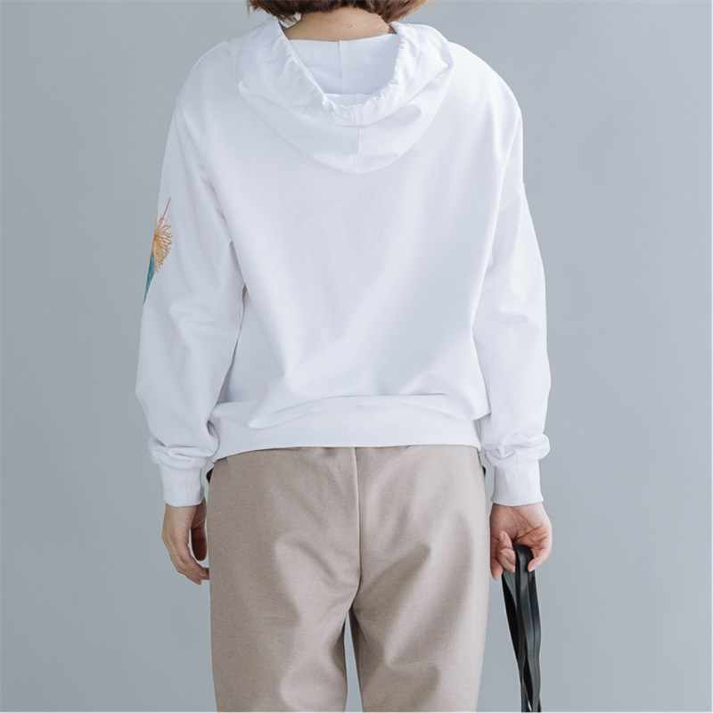 cotton plus size oversized spring autumn pullovers cute hoodies casual loose sweatshirt women clothes 2020 hoody streetwear