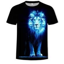 New Summer Cool Style Hip -Hop T-Shirt Men /Women Print Yin Yang 3d Lion T Shirt Harajuku Mens Clothes 2020 Top Asian Size S-6xl
