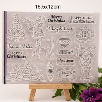 Happy Hugs Tree Love Clear Stamps New 2020 Scrapbooking Rubber Stamp Transparent Silicone Party DIY card making stempel Template - discount item  26% OFF Arts,Crafts & Sewing