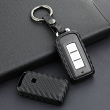1* умный чехол для ключей из углеродного волокна черный для Mitsubishi Outlander Sport 2011